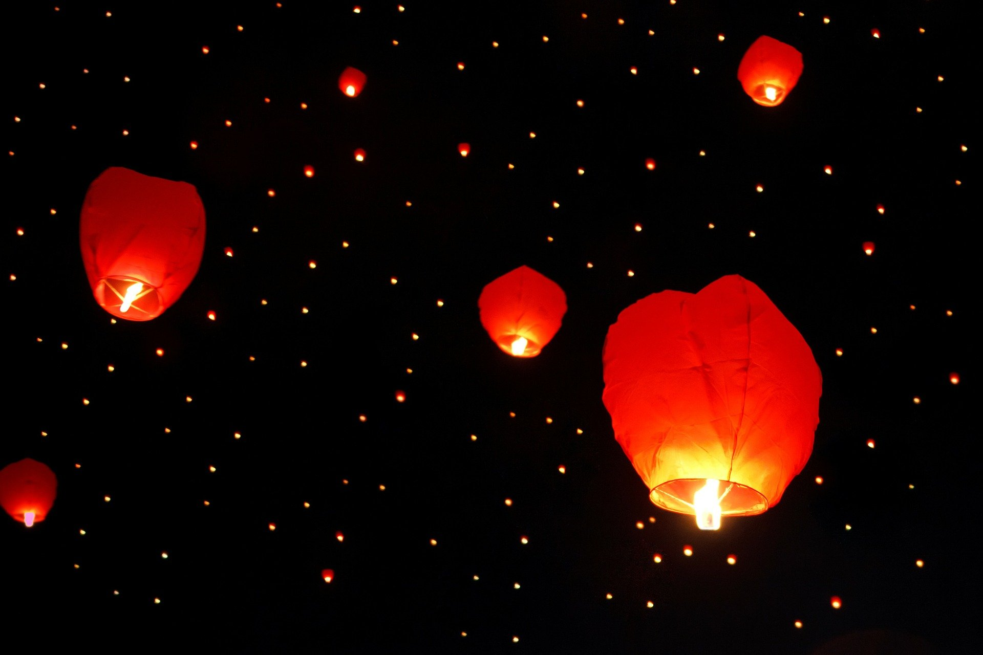 lanterne volante fonctionnement